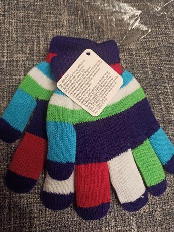 Перчатки зимние 6-7 лет