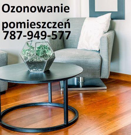Ozonowanie mieszkań, biur, pomieszczeń, usuwanie zapachów