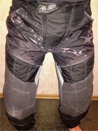 Пейнтбольные бронированные штаны eclipse ewx distortion black