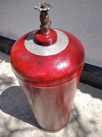 Продам бытовой газовый балон ПРОПАН на 50 литров, б/у.