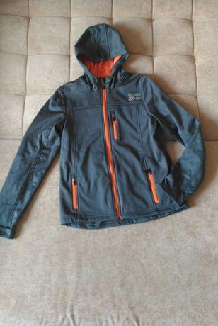 Термокуртка crivit, мастерка , утеплённая на флисе, 12-14лет