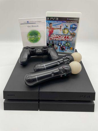 Gra Sports Champions +Konsola PlayStation 4 fat z dyskiem 1TB +2x move