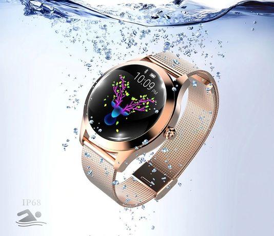 Smartwatch damski Zegarek KW10 Oled , Wodoodporność IP67 , Smart Watch