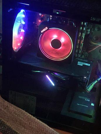 Игровой компьютер Artline, asus gtx 1660ti, ryzen 5, на гарантии