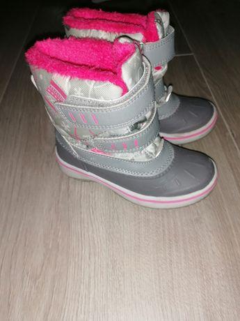 Śniegowce buty zimowe rozmiar 25