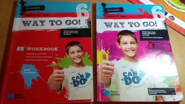 Livro Inglês: Way to Go 6