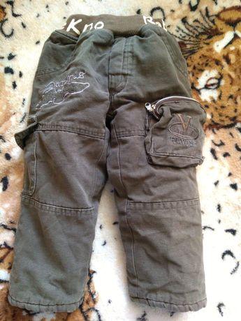 Штаны джинсовые тёплые