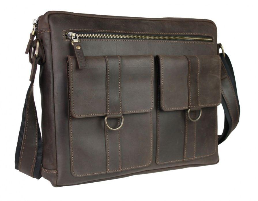Кожаная мужская сумка А4 ручная работа sullivan.com.ua Козелец - изображение 1