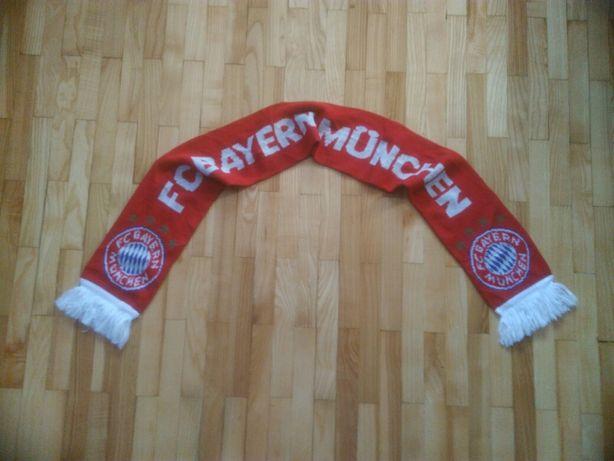 szalik klubowy Bayern Monachium jubileuszowy 110 lat
