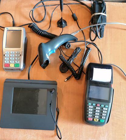 Kasa fiskalna, terminal, skaner, tablet do podpisu elektr. (nowy)