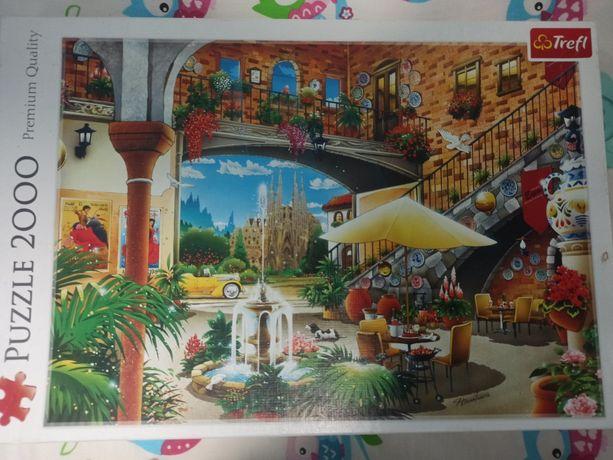 Puzzle trefl 2000 kompletne