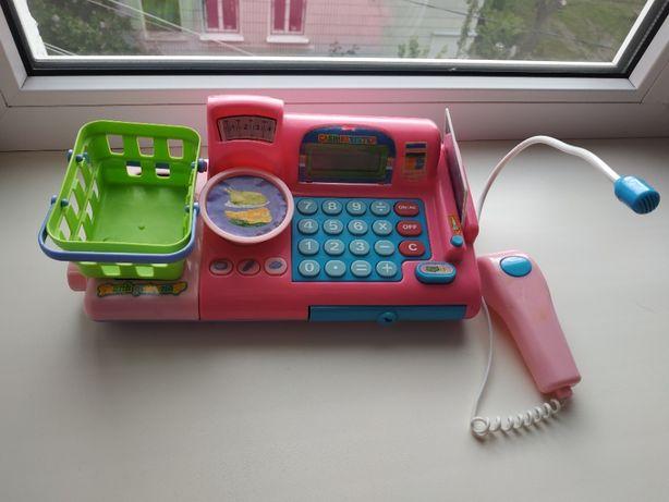 Игровой детский кассовый аппарат