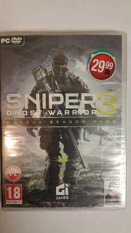 Gra Sniper Ghost Warrior 3 PL. Folia.