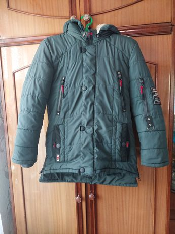 Куртка зимная на мальчика