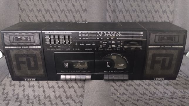 Radiomagnetofon Klasyk retro Magton jak Sony Panasonic Philips