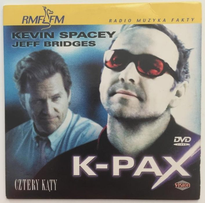"DVD ""K - Pax"" Dramat s-f"
