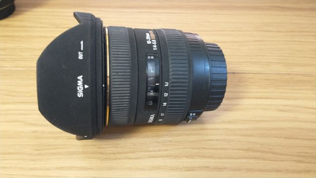 Obiektyw Sigma 10-20 mm F4.0-F5.6 EF