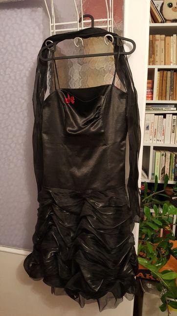 Czarna sukienka roz. 42