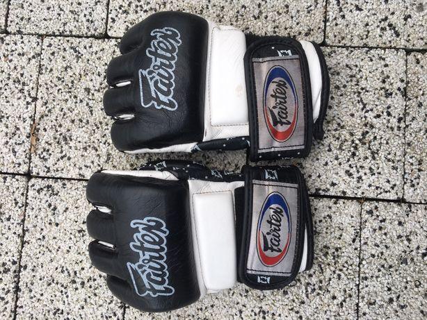Rękawice MMA fairtex skóra naturalna