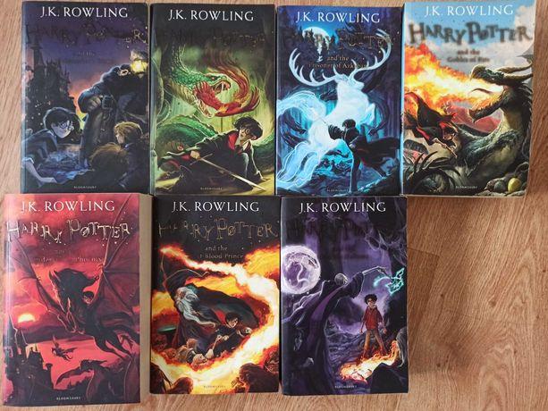Coleção livros Harry Potter completa em inglês