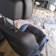 BMW E60 сидіння пасажира і задній диван ШКІРА