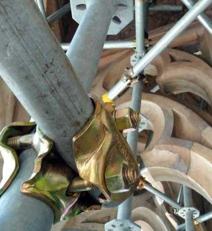 Złącze prostopadłe 4-śrubowe Marcegaglia, wytrzymałość 12 kN