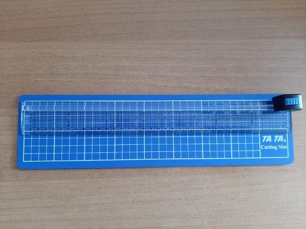 Резак-линейка ТА-ТА RC-4. Резак режет до 3 листов бумаги до 330мм (А4)