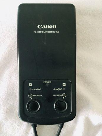 Carregador baterias máquina fotográfica Canon NC-E 2