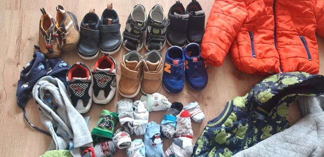 Ciuchy buty na chłopca