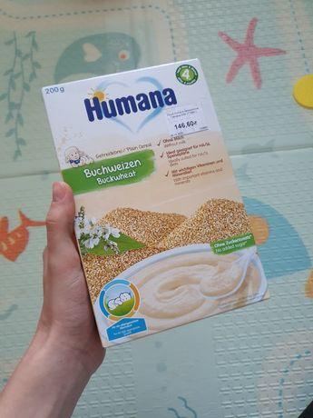 Каша Humana безмолочная каша гречневая с 4х месяцев