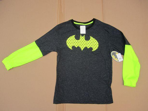 Лонгслив для подростка Batman реглан из США р. 10/12 - оригинал.