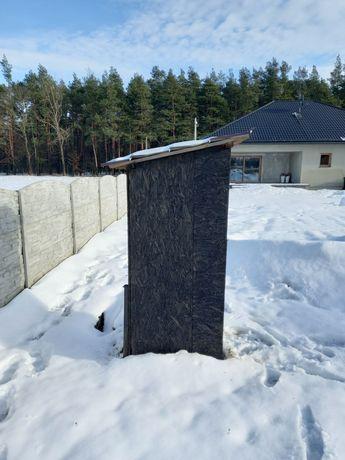 WC Kibelek Wychodek Toaleta na budowę