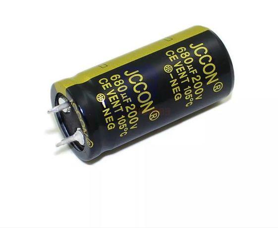 Конденсатор JCCON 680 mf 200v.