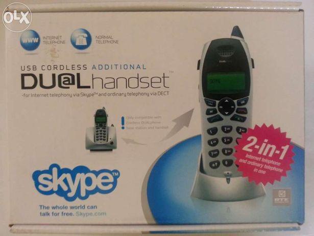 Skype dualhandset rtx3045 usb+fixeline+internettelefone