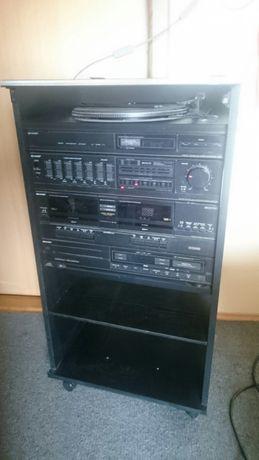 Wieża stereo sharp z lat 80tych