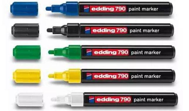 Markery Edding niebieskie 790 nowe