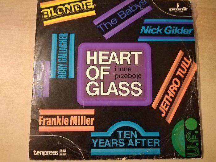 Płyty winylowe - Heart of Glass i inne przeboje