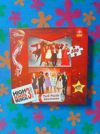 Puzzle dwustronne High School Musical 500 Trefl