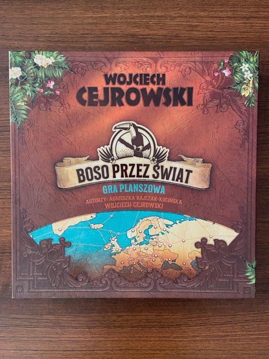 """Gra planszowa """"Boso Przez Świat"""" Cejrowski Rajczak-Kucińska Wałbrzych - image 1"""