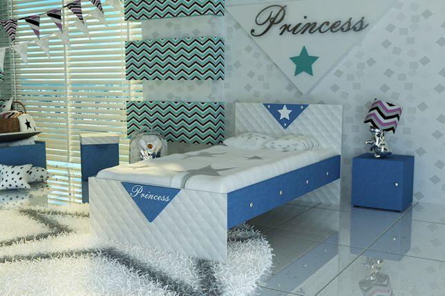 Ostrów -Łóżko dla dziecka, Princess-Darmowa dostawa!!!