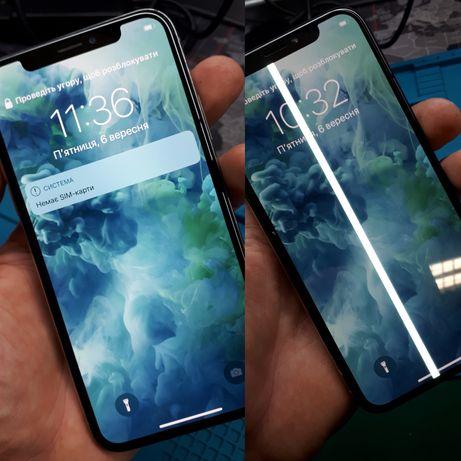 Oryginalny wyświetlacz IPHONE X XS dotyk szybka MONTAŻ od ręki FREE
