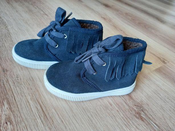 Замшевые ботиночки Mango