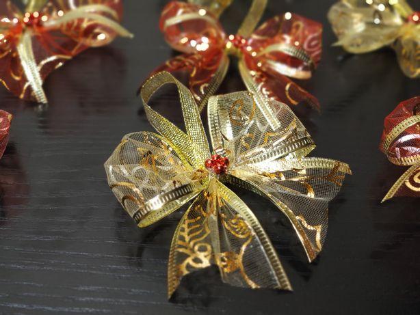 Прикраса на ялинку,праздничный декор,украшение,бантики