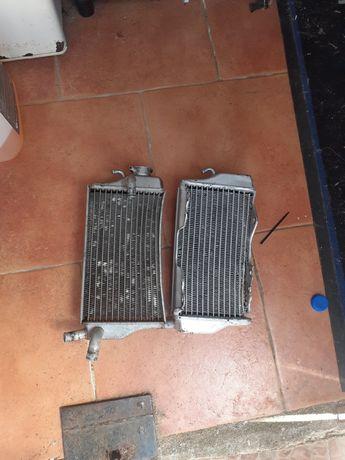 radiadores guiador e desmultiplicador de embreiagem