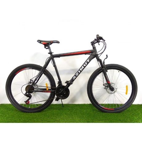 """Спортивный велосипед горный 26 дюймов Azimut Energy FR/D рама 21"""""""