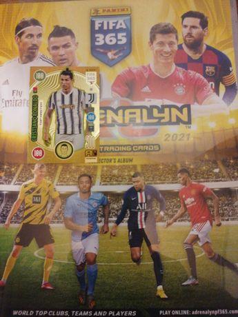 Karty piłkarskie FIFA panini 365, edycja 2021