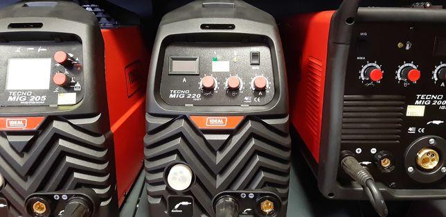 Półautomat spawalniczy Ideal Tecno Mig 220 Migomat Spawarka Tig Plazma