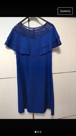 Sukienka chabrowa 42