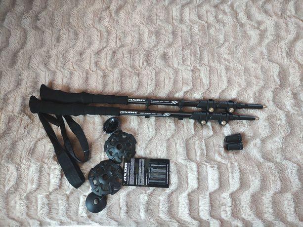 Колекційні Axon Карбон 63-135 см треккинговые палки трекінгові палиці