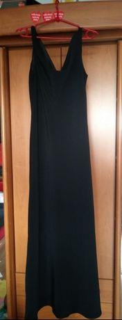 Sukienka długa czarna rozm 40